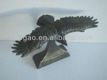 polyresin eagle bronze statue