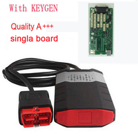 Quality A+++ one Single green board ds150 For Delphi DS150e For CDP Pro Plus with Keygen without bluetooth OBD2 Diagnostic Tool