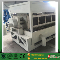 Small paper egg tray machine/shoes tray making machine/waste paper recycling production line