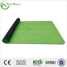 Zhensheng eco-friendly anti-slip rubber yoga mat