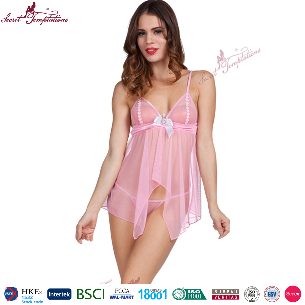 Secret Temptations women sexy underwear nightwear babydoll sex school girl lingerie