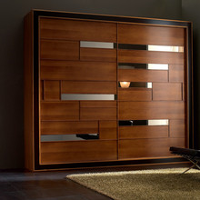 Factory direct veneer wardrobe door designs prices China wardrobe designs door designs india