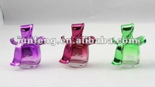 20ML butterfly bow cap glass perfume bottle for lady