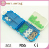 Weekly Sort Folding Vitamin Medicine Drug Pill Box Makeup Storage Case Container/Portable Pill Case Box/Travel Pill Container