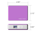 New Products Portable Power Bank Chargers 4400mah mobile power bank chargers for Samsung Galaxy, Nokia, HTC, LG