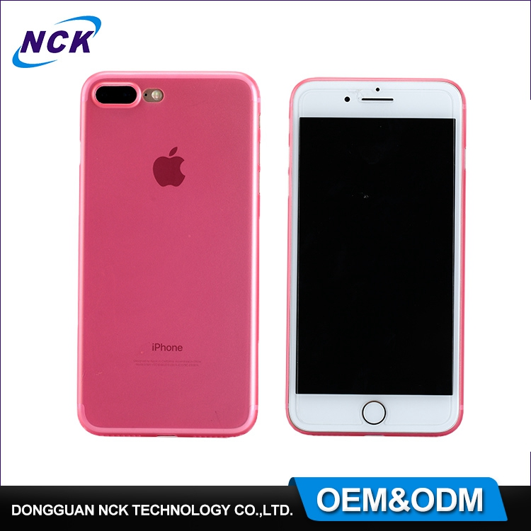 OEM & ODM free sample colorful cell phone ultra thin back shell protective cover PP cases for iphone 6 7