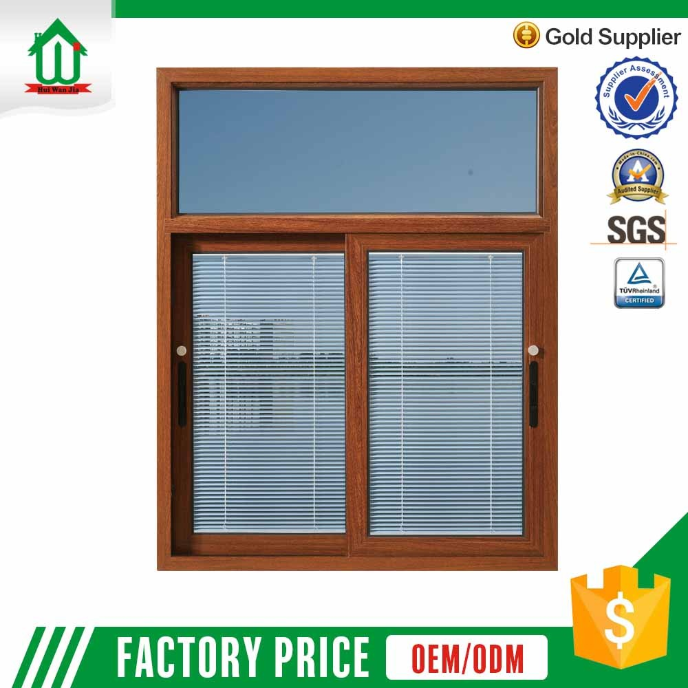New house factory wholesale price tempered glass aluminum sliding window