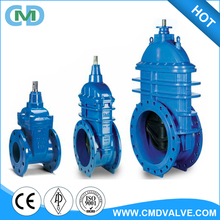 Ductile Iron DN100 PN16 GGG50 Bolted Bonnet Gate Valve for Water