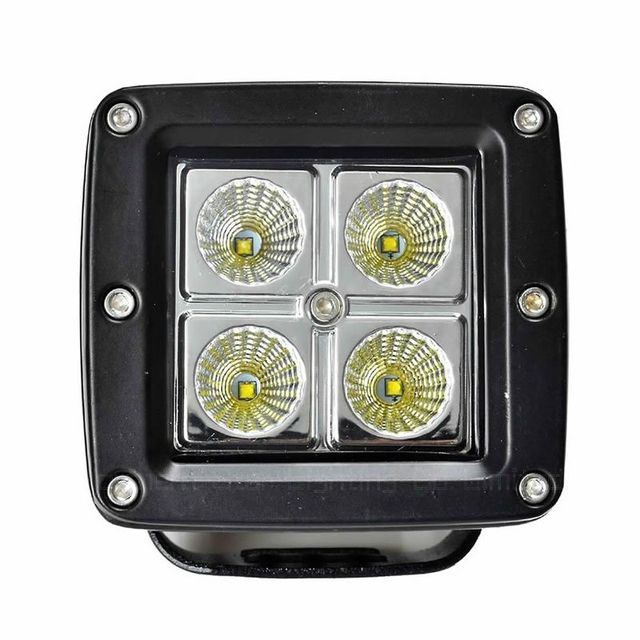 3Inch 1520LM 16W Offroad Car LED Work Light 12V,24V Waterproof worklight Lamp for Auto Motorcycle Tractor Boat 4WD front lamp