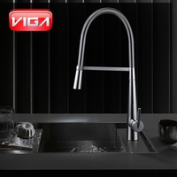 VIGA Pull Out Spray sink mixer