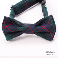 Cheap Three Size Classic Stripe Dog Collar Bow Ties Hardware