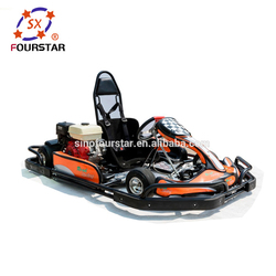 Adult Racing Go karts Popular Seated Gas Powered kart with Bumper and Cover SX-G1101