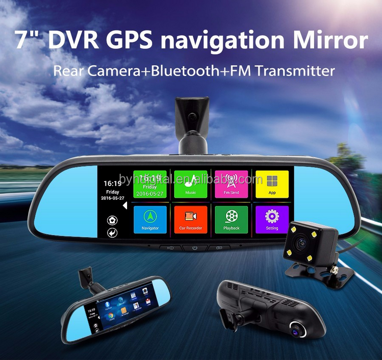 Quad-core CPU 7inch car navigation 800x480 android in navigation & gps,android tablet gps navigation with igo map
