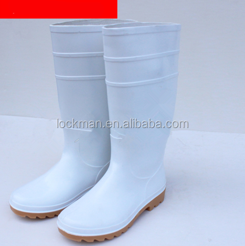 White oil resistant acid and alkali resistant industrial special boots(SS0.32-WY)