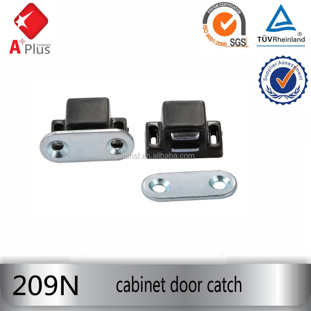 209N with iron plate cabinet plastic magnetic door latch