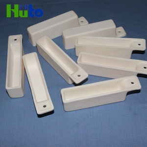 Corrosion Resistance High Quality Refractory Alumina Combustion Ceramic Crucibles Boat