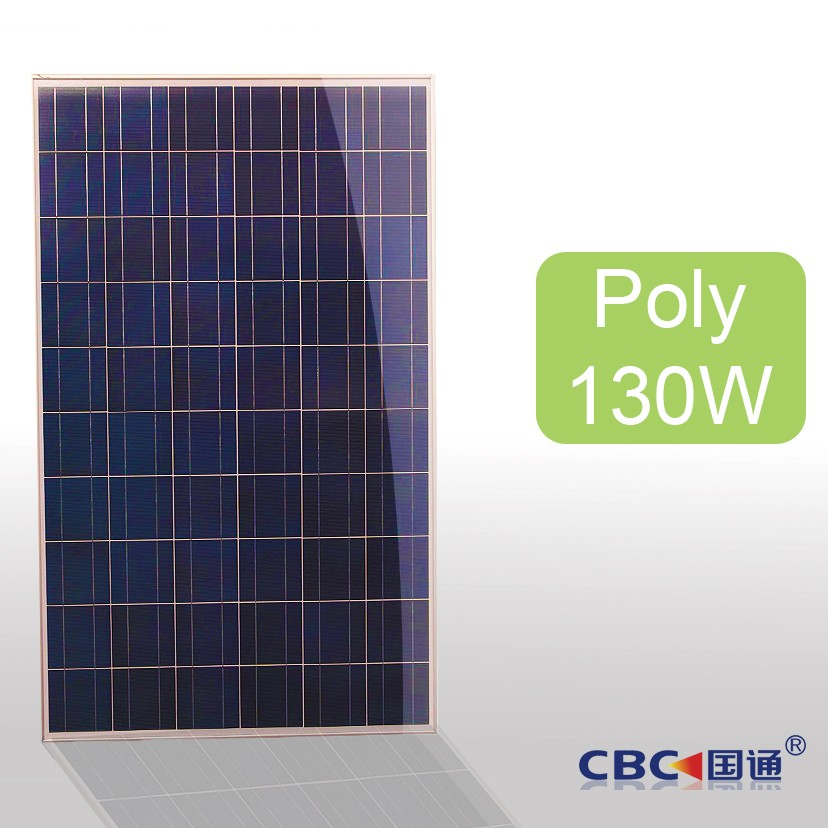 Poly Solar panel Solar Modules solar system cells 130w
