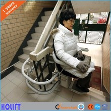 Residential Hydraulic chair stair lift china for stairs For Disabled