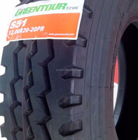 2015 Profitable GCC Tube Type Truck Tyres 9.00R20 S51