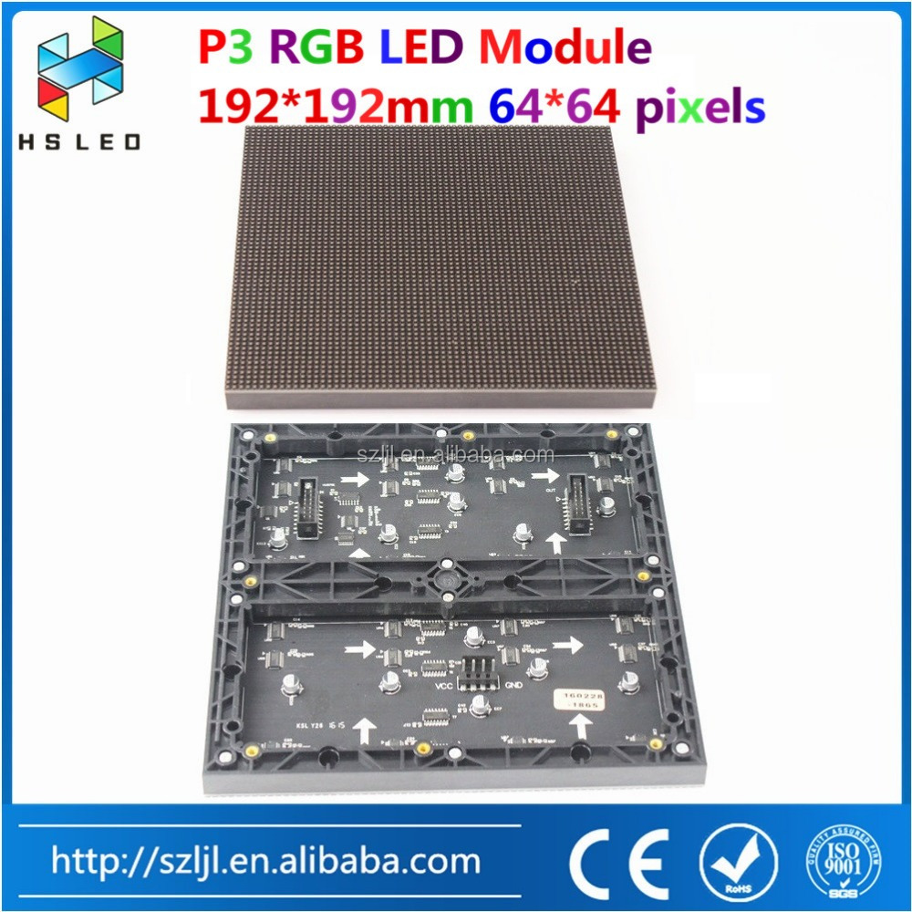 idoor P2 P3 P4 P5 P6 LED module moving led video display circuit