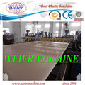 NEW design of WPC PVC foam sheet board production machine line