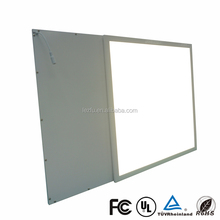 Square high quality anodized aluminum frame for led ceiling panel light 600x600 led light panel 2x2 with ce rohs