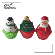 CC35994 Christmas series cup cake lip gloss