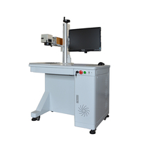 Air cooling Fiber Laser Marking Machine 30w for Hardware With CE and FDA