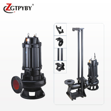 3hp cast iron centrifugal pumps stir submersible sewage pump /waste water pump