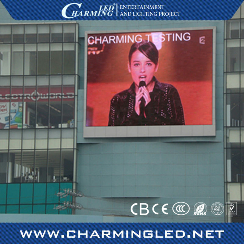 led full color outdoor screen P20/led screen display for outside