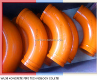 quality supplier 90 degree swivel pipe bend/ elbow for concrete pump trucks