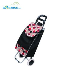 Lightweight Shopping Trolley bag With Seat, Folding Shopping Cart,Supermarket Shopping Trolley