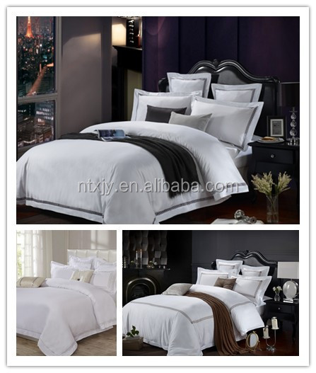 Eco-Friendly Cotton Hotel Bedding Set Hotel Linen Hotel Textile Products