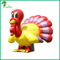 inflatable 2m high chicken , inflatable turkey for thanksgiving day