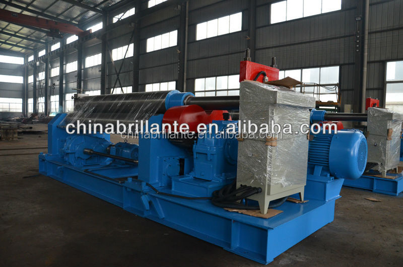 JIANGSU NANTONG: BRILLANTE sheet metal bending <strong>rolling</strong> <strong>machine</strong>