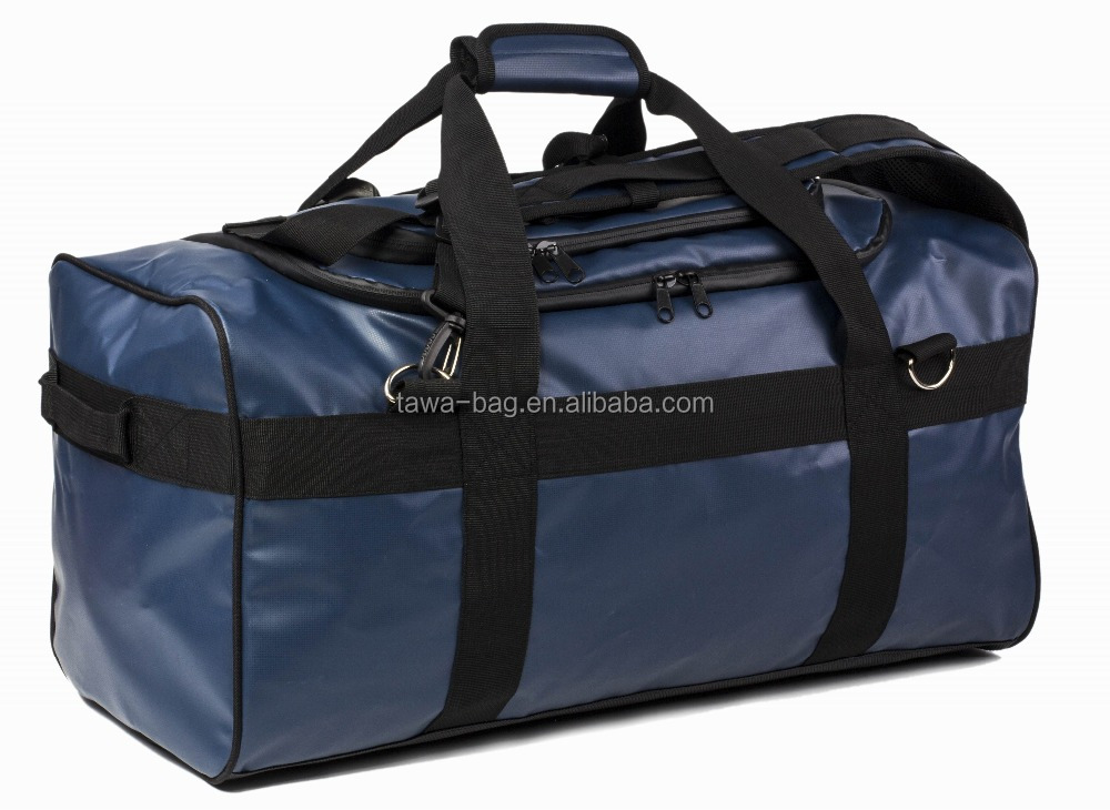 54 Liter hard bottom waterproof duffle bag for travel