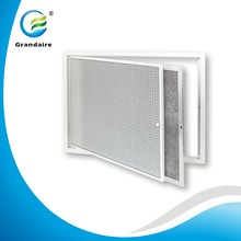 Aluminium eggcrate return air vent grille