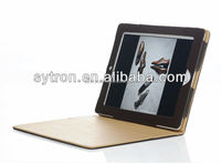 Fashion business frame book style flip pu leather universal tablet case for ipad pro
