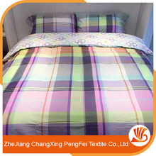 Chinese tridational striped bed sheet fabric designs for home use