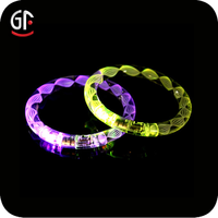2015 Promotion Items Economic Gift Free Sample Cheap Custom Colored Led Bracelet