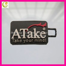 Custom brand logo OEM 3d silicone zipper pull,soft pvc zipper puller,rubber zipper slider