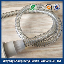 Pvc Flexible Pipe Cover Spiral Steel Wire Reinforced Hose