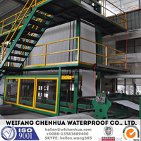 SBS bitumen water proofing membrane production machine -- China factory direct sale