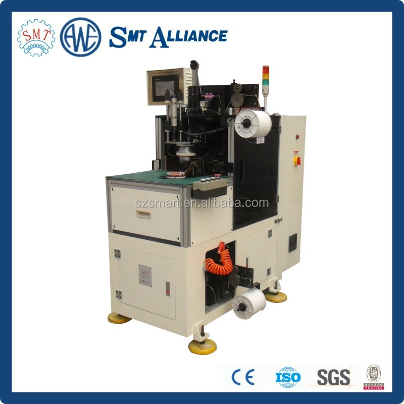 SMT-BZ190 Induction Motor Lacing Machine With Dual Heads