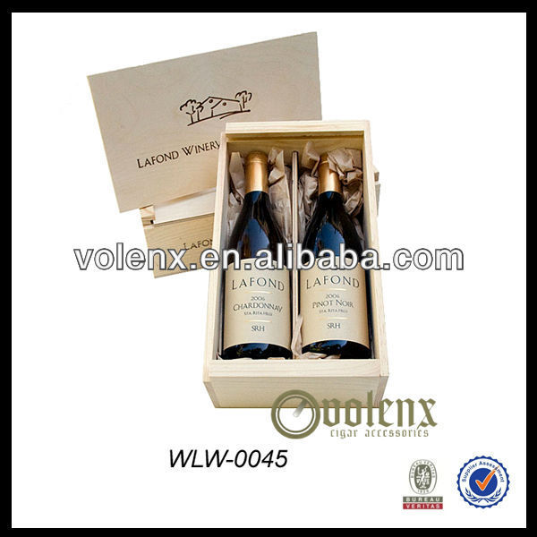 Hot selling High end luxury wooden gift wine box
