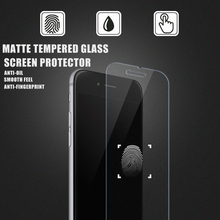 New product 2016! 0.33mm 2.5D anti-fingerprint anti-shock mobile phone Matte Tempered Glass screen protector for iPhone6/6s