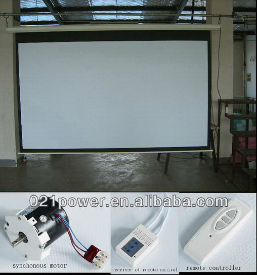 Electric Screen/electric wall mounted screen
