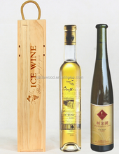 Mini small wine boxes wooden wine box Customized Shape Acceptable Customer's Logo