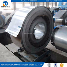 Jieyang AAA Factory Price Second Choice 2D 8K Finish 410 stainless steel coil/sheet/strip