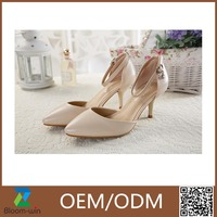 promotional fashionable kids fashion high heel shoes GuangZhou